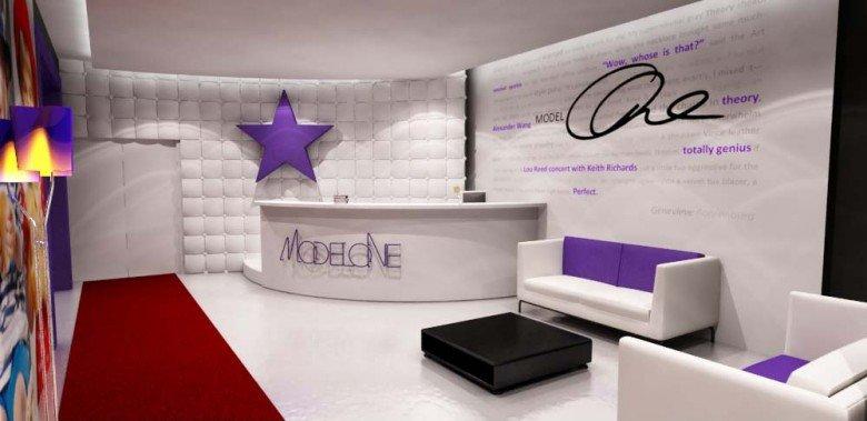 model one office