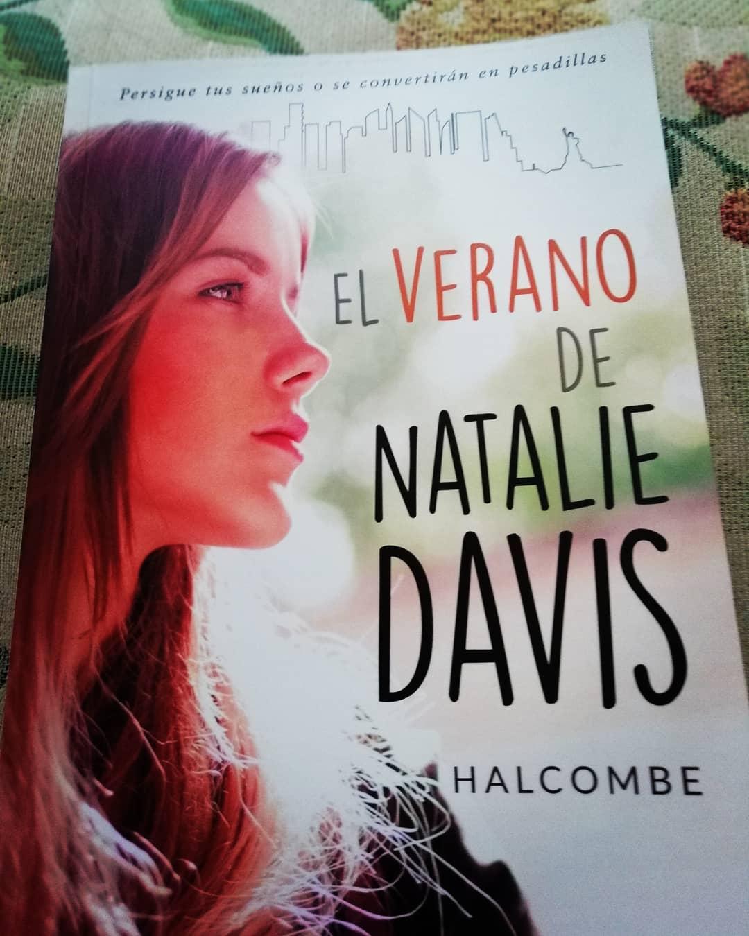 My new novel; El verano de Natalie Davis (the summer of
